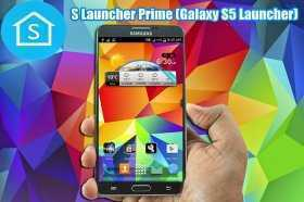 S Launcher Prime Galaxy S5 Launcher Full apk