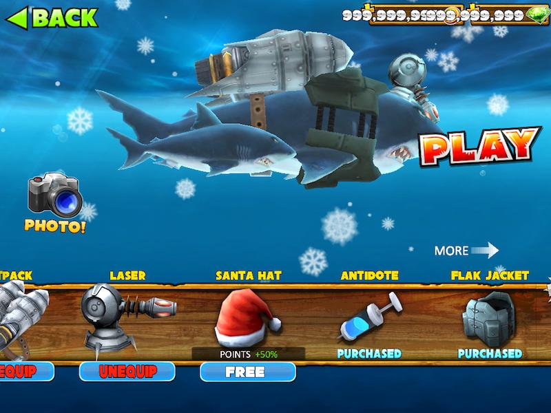Hungry Shark World Para Hileli Apk İndir