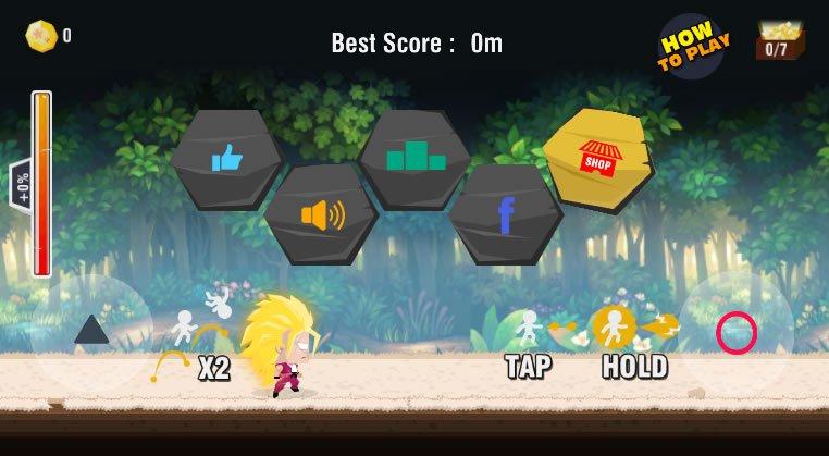 The Battle Of Saiyan Warrior v1 1 2 Android Para Hile MOD APK indir