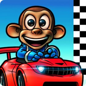 Monkey Racing v1.0.3 Android Para Hile MOD APK + DATA indir