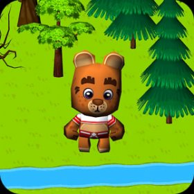 Cross The Forest 3D v1.0 Android APK indir