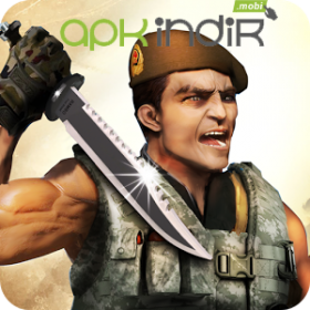 Elite Commando Assassin 3D v1.3 Android Para Hile MOD APK indir