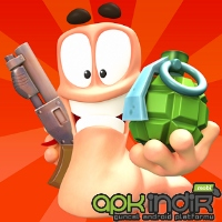 Worms 3 Apk + Data Full Mod Hile