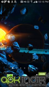3D Asteroid World Parallax LWP