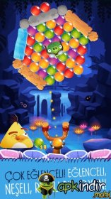 Angry Birds Bubble Shooter