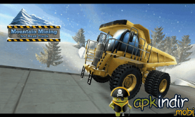 Mountain Mining Ice Road Truck