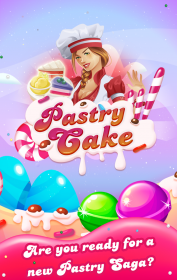 Pastry Cake - Candy Match 3