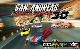San Andreas Police Chase 3D