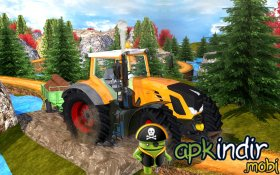 Tractor Hill Driver 3D