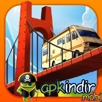 Bridge Builder Simulator v1.2.8 Android Oyun indir