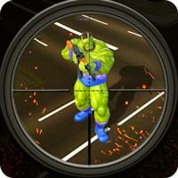 American Monster vs Stickman Sniper Modern Combat v 1.1.2 Güncel Hileli indir