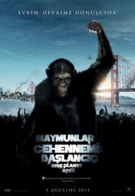 Maymunlar Cehennemi: Başlangıç  2011 Türkçe Dublaj