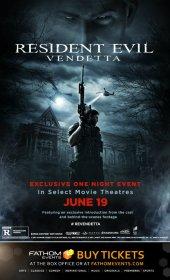 Resident Evil Vendetta 2017 Türkçe Dublaj