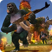 Apes Hunter - Jungle Survival v 1.1.2 Para Hileli indir