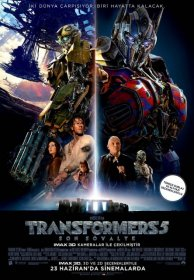 Transformers 5 Son Şovalye 2017 Türkçe Dublaj
