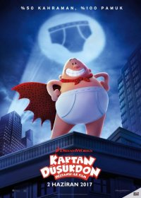 Captain Underpants The First Epic Movie 2017 Türkçe Dublaj