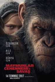 War for the Planet of the Apes 2017 Türkçe Dublaj ve  Altyazı