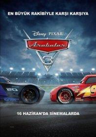 Arabalar 3 Cars 3 2017 Türkçe Dublaj