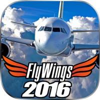 Flight Simulator 2017 FlyWings HD v 5.0.3 Full Mod indir