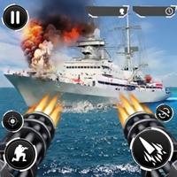 Navy Gunner Shoot War 3D v 1.0.7.5 Para Hileli indir
