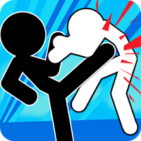 Stickman Fighter : Mega Brawl v 7 Güncel Hileli indir
