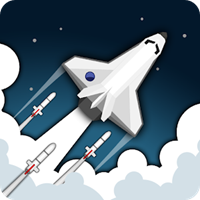 2 Minutes in Space - Missiles & Asteroids survival v 1.1 Hileli Apk indir