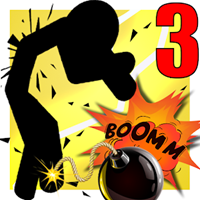 Stickman Destruction Warrior 3 v 1.1 Hileli Apk indir