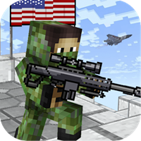American Block Sniper Survival v C20s Hileli Apk indir