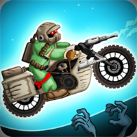 Zombie Shooter Motorcycle Race v 3.35 Para Hileli indir