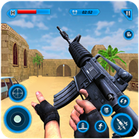 Army Counter Terrorist Attack Sniper Strike Shoot v 1.6.8 Hileli Apk indir