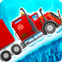 Ice Road Truck Driving Race v 3.46 Para Hileli indir