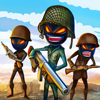 Stickman Royale : World War Battle v 1.4 Para Hileli indir