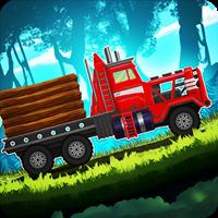 Forest Truck Simulator: Offroad & Log Truck Games v 3.58 Para Hileli indir
